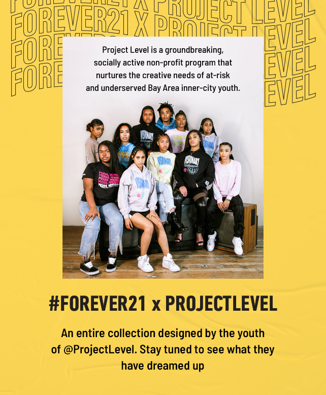 Forever21 X ProjectLevel