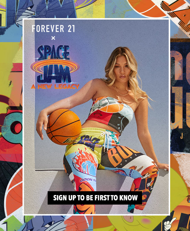 Forever 21 X Space Jam Collection